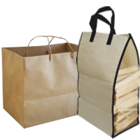 Firewood Shopping Bags